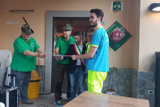 Inaugurazione defibrillatore Biforco
